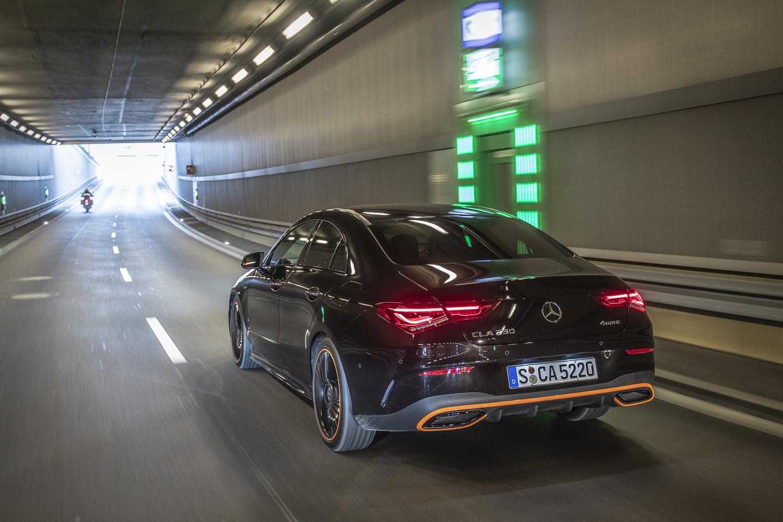 Foto de Mercedes-Benz CLA Coupé 2019, toma de contacto (159/248)