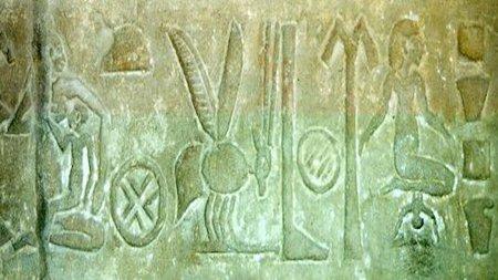 Peinado parto egipcio