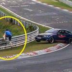 Esto es el caos en Nürburgring por una mancha de aceite y un candidato a salto de altura en los próximos Juegos Olímpicos