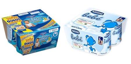 Los yogures para bebé siguen siendo poco recomendables