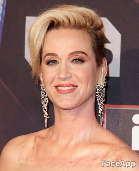 Faceapp Katy Perry