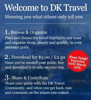 Crea tu propia guía con DK Travel