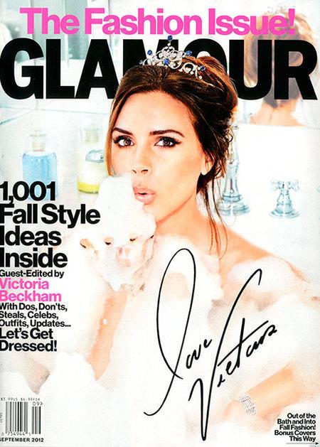 Victoria Beckham, la princesa de su bañera con mucho Glamour