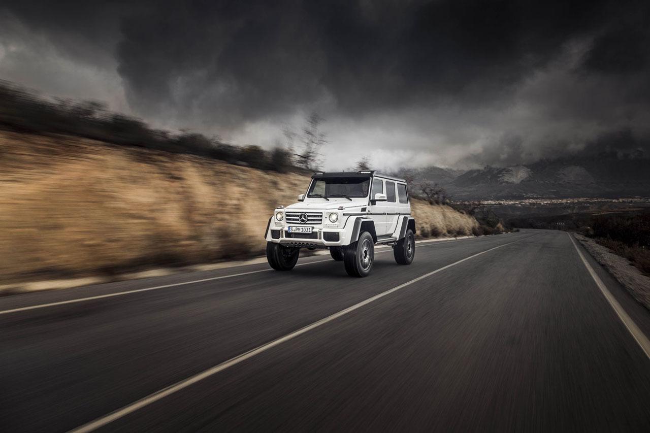 Foto de Mercedes-Benz G 500 4x4², toma de contacto (80/127)