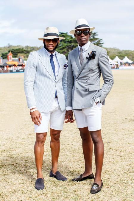 El Mejor Street Style De La Semana Combo Blazer Shors Bermudas Trendencias Hombre 10