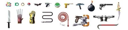 Imagen de la semana: más de 50 armas altamente reconocibles