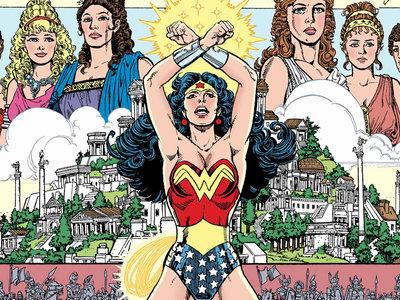 En 'Wonder Woman: La Mujer Maravilla' George Pérez retrata el paradigma de la heroína más épica