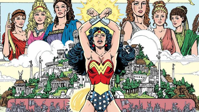 Wonder Woman Pérez