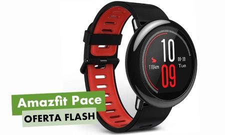 Hoy en oferta flash en Amazon, tienes el reloj deportivo Amazfit Pace a precio de chollo, por sólo 70 euros