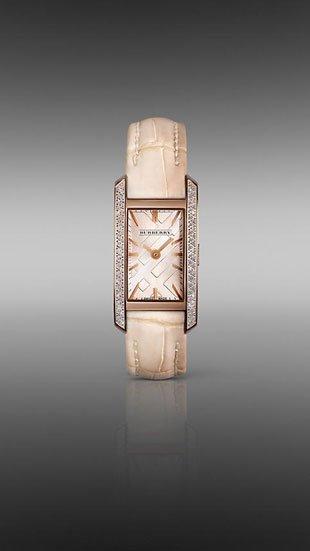 Burberry Nude lanza un reloj femenino en oro rosa y diamantes. Edición limitada