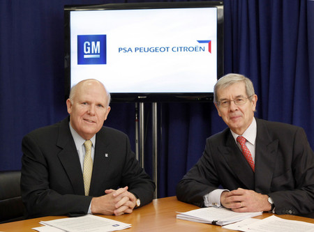 General Motors y PSA colaborarán como mínimo hasta 2022