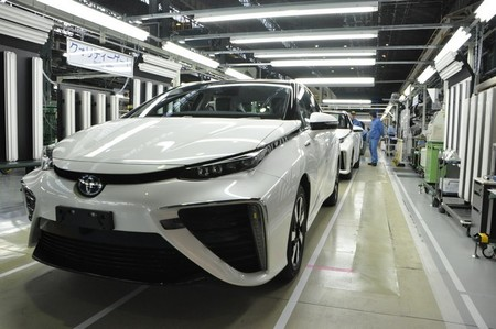 Así se fabrica el Toyota Mirai