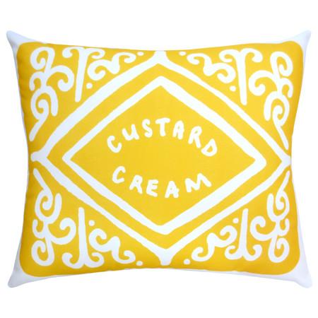 Yellow Custard Cream Cushion Nikkimcwilliams Etsy Com Gbp32 2