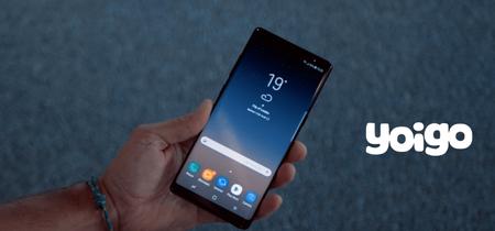 Yoigo también incorpora al Samsung Galaxy Note 8 en su catálogo: precios y tarifas asociadas