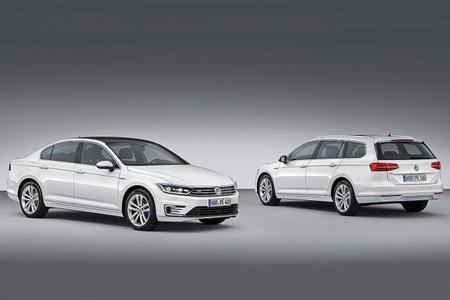 Volkswagen Passat GTE, ahora híbrido y enchufable