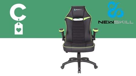 Amazon tiene rebajada casi un 45% la silla gaming Newskill Nayuki con la que pasarás horas jugando con total comodidad: llévatela por 67 euros