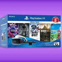PlayStation VR con cámara y cinco juegos en uno de sus precios más bajos de Amazon México, envío gratis y hasta 12 meses sin intereses
