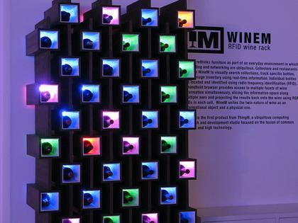 ThingM WineM, un botellero inteligente para los vinos