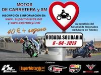 Rodada solidaria en beneficio del Hospital Nacional de Parapléjicos de Toledo