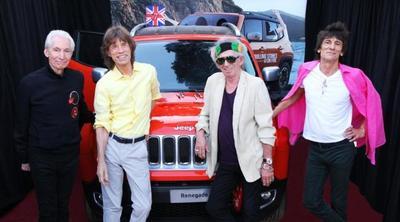 Pagan 46.000 dólares por un Jeep Renegade...firmado por los Rolling Stones