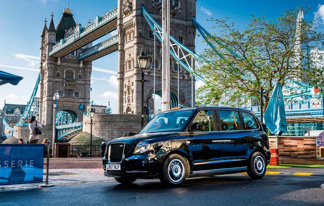 LEVC TX, el taxi londinense eléctrico que quiere unirse a la flota madrileña