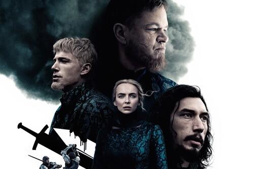 'El último duelo' es una de las mejores películas de 2021: una brutal historia de traición y venganza con un reparto en estado de gracia
