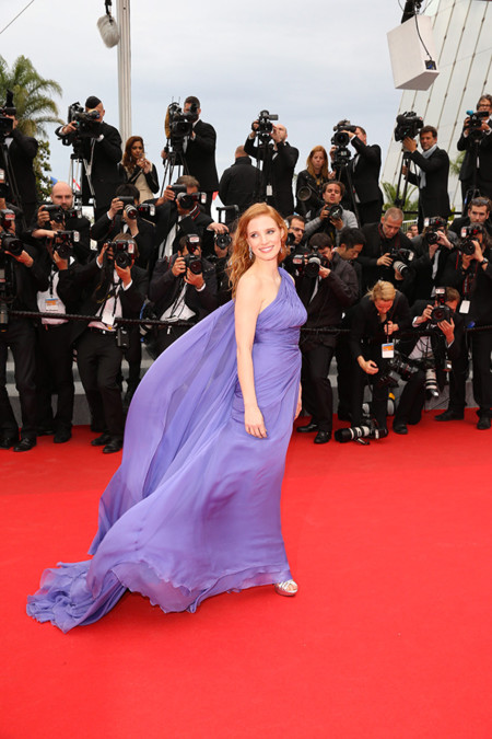 Jessica Chastain Festival Cannes 2014 Elie Saab