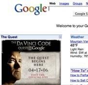 Google y Sony Pictures unidos por 'El Código Da Vinci'
