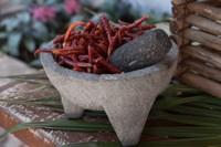 Las mejores salsas se hacen en molcajete y con tejolote