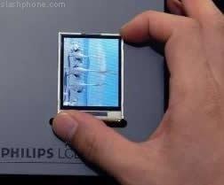 El primer LCD para la siguiente generación de móviles