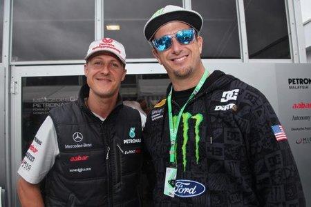 La estatura de Ken Block pone en peligro su prueba de un Fórmula 1