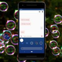 Google prueba las burbujas en su aplicación Mensajes, ya en Android 10