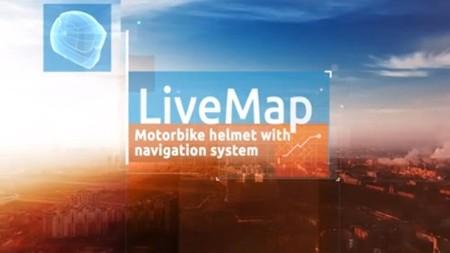 Los rusos de LiveMap presentan un prototipo de casco con GPS integrado