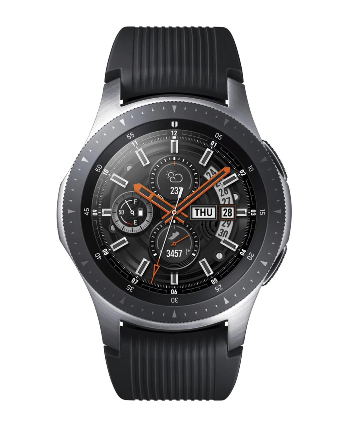 Samsung Galaxy Watch 46 mm BT Plata Smartwatch