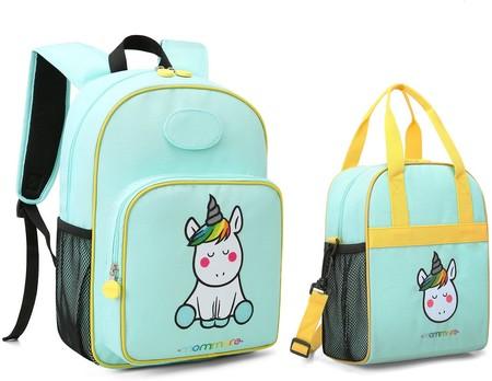 Mochila para niños y bolsa de almuerzo térmica