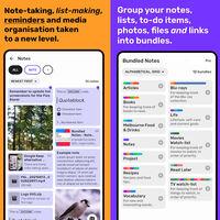 Así es Bundled Notes, una de las mejores alternativas a Google Keep para crear notas y listas de tareas