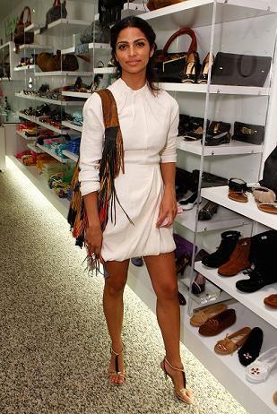 No lo quiero, lo necesito: el vestido blanco de Camila Alves