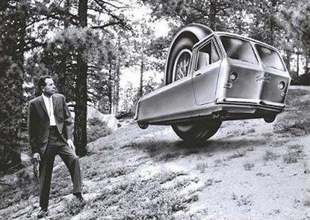 Grandes visionarios: Charles F. Taylor y su vehículo de una rueda