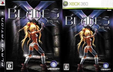 La carátula de 'X-Blades' y su llamativa diferencia entre PS3 y Xbox 360
