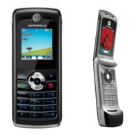 Motorola W218, W395, W360 y W380