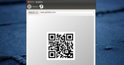 Qreator, creando códigos QR directamente desde tu escritorio