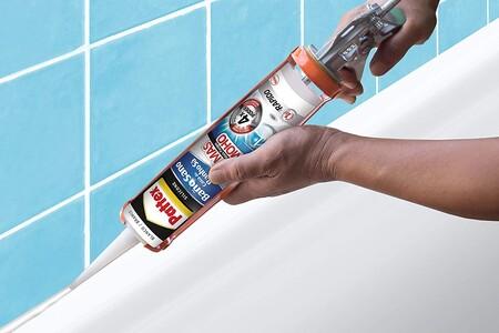 Silicona para juntas de baño