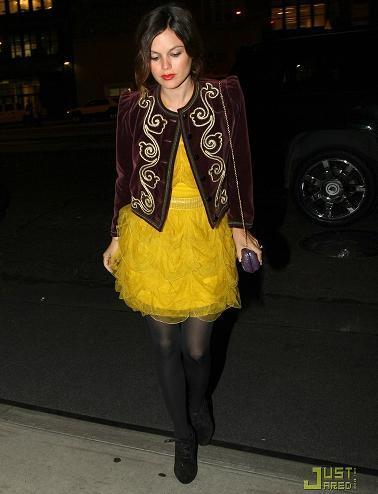 Rachel Bilson en la fiesta de Dior en Nueva York