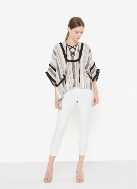 ad8cfc5de9f31 Las blusas de estilo boho mandan en nuestros looks de verano