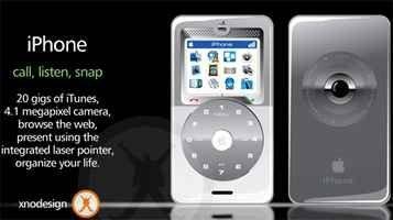 Posible diseño del iPhone