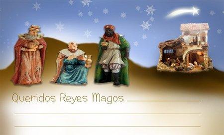 Cartas para los Reyes Magos exclusivas de Bebés y más (Navidad'11)
