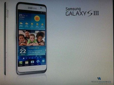 ¿Imagen del Samsung Galaxy SIII y con fecha de salida?