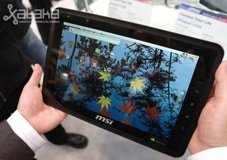 MSI Windpad 100A, el tablet honeycomb de MSI calienta motores en el CeBit a un precio prometedor
