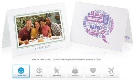 Cards, una excelente aplicación de Apple para enviar felicitaciones por correo ordinario