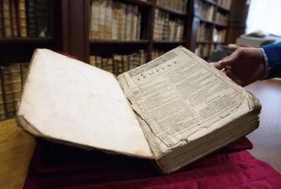 """Hallado un """"First Folio"""" de Shakespeare en Francia"""